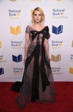 EMMA ROBERTS at 68th National Book Awards in New York 11/15/2017