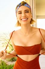 EMMA ROBERTS for Shape Magazine, December 2017 Issue