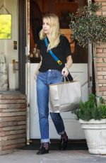 EMMA ROBERTS Out Shopping in Studio City 11/09/2017
