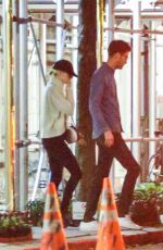 EMMA STONE and Dave MCcary Out to Celebrate Emma