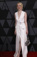 EMMA STONE at AMPAS 9th Annual Governors Awards in Hollywood 11/11/2017