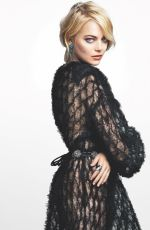 EMMA STONE in Marie Claire Magazine, December 2017