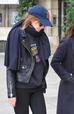 EMMA WATSON Out and About in Paris 11/23/2017