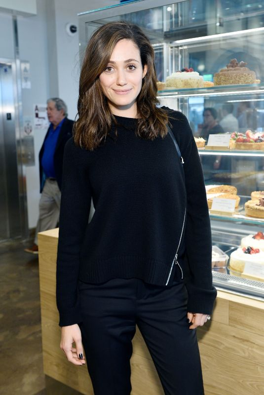 EMMY ROSSUM at Eataly Los Angeles Opening Celebration in Los Angeles 11/03/2017