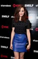 EMMY ROSSUM at Shameless Fest in Los Angeles 11/02/2017