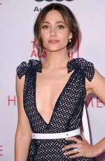 EMMY ROSSUM at Television Academy Hall of Fame Induction in Los Angeles 11/15/2017
