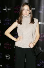 EMMY ROSSUM at The Light of the Moon Special Screening in Los Angeles 11/16/2017