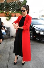 EMMY ROSSUM Out for Lunch at Il Pastaio in Beverly Hills 11/16/2017