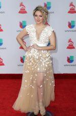 ERIKA ENDER at Latin Grammy Awards 2017 in Las Vegas 11/16/2017