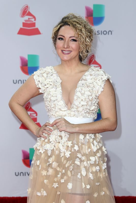 ERIKA ENDER at Latin Grammy Awards 2017 in Las Vegas 11/16/2017
