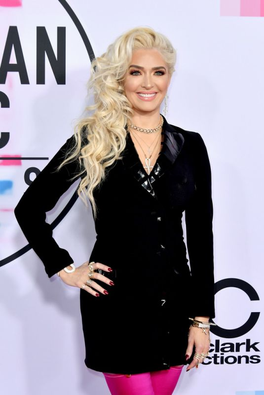 ERIKA JAYNE at American Music Awards 2017 at Microsoft Theater in Los Angeles 11/19/2017