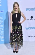 ERIKA MCKITRICK at Wonder Premiere in Los Angeles 11/14/2017
