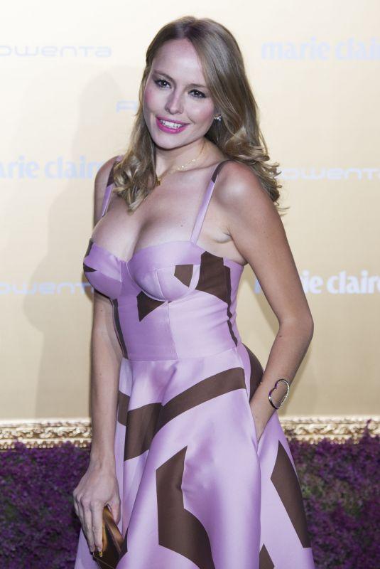 ESMERALDA MOYA at Marie Claire Prix De La Moda Awards in Madrid 11/07/2017