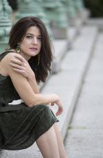 ESTHER GARREL for New York Post in New York, October 2017