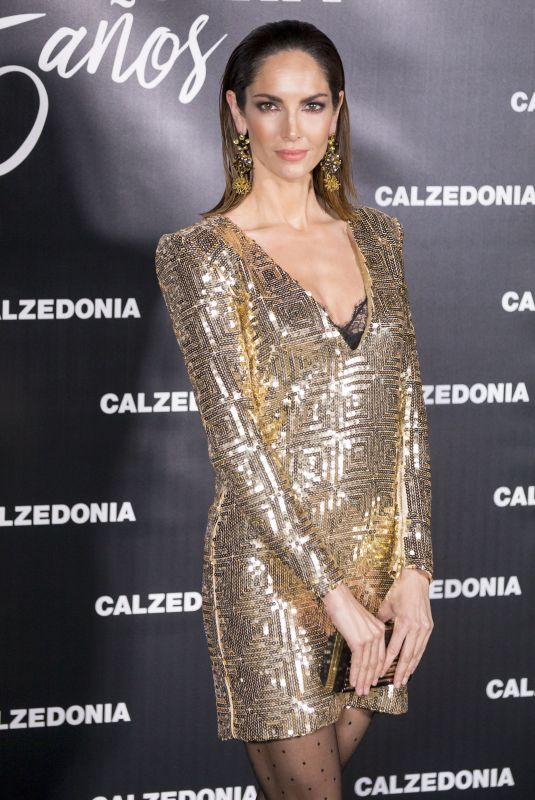 EUGENIA SILVA at 25th Calzedonia Anniversary Party in Madrid 11/23/2017