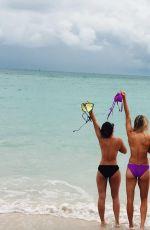 EUGENIE BOUCHARD in Bikini on Vacation in Bahamas 11/13/2017
