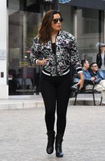 EVA LONGORIA Out and About in Beverly Hills 11/27/2017