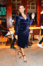 EVA LONGORIA Out for Dinner at Cipriani in New York 11/21/2017