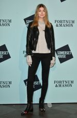 EVE DELF at Skate at Somerset House VIP Launch Party in London 11/14/2017