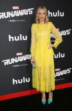 EVER CARRADINE at Runaways Premiere in Los Angeles 11/16/2017