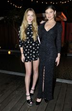 FAITH and CAMBRIE SCHRODER at Forever 21 #celebrateforever Winter Wonderland Event in Los Angeles 11/13/2017