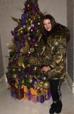 FAYE BROOKES Lights Evelyn House of Hair and Beauty Salons Christmas Lights in Manchester 11/03/2017
