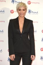 FRANKIE BRIDGE at Virgin Money Giving Mind Media Awards in London 11/13/2017