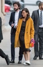 FRANKIE SHAW Arrives at Jimmy Kimmel Live in Los Angeles 11/16/2017