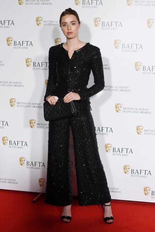 FREYA MAVOR at British Academy Scotland Awards in Glasgow 11/05/2017