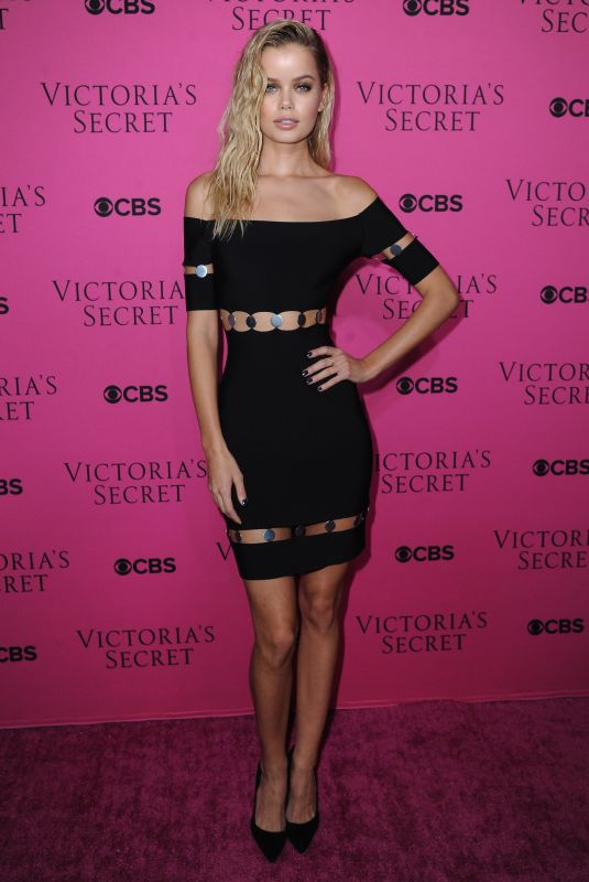 FRIDA AASEN at 2017 Victoria's Secret Fashion Show Viewing Party in New York 11/28/2017