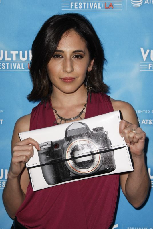 GABRIELLE RUIZ at Crazy Ex-girlfriend 100th Song Celebration Ssing-a-long at Vulture Festival in Los Angeles 11/19/2017