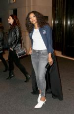 GABRIELLE UNION Leaves Her Hotel in New York 11/15/2017