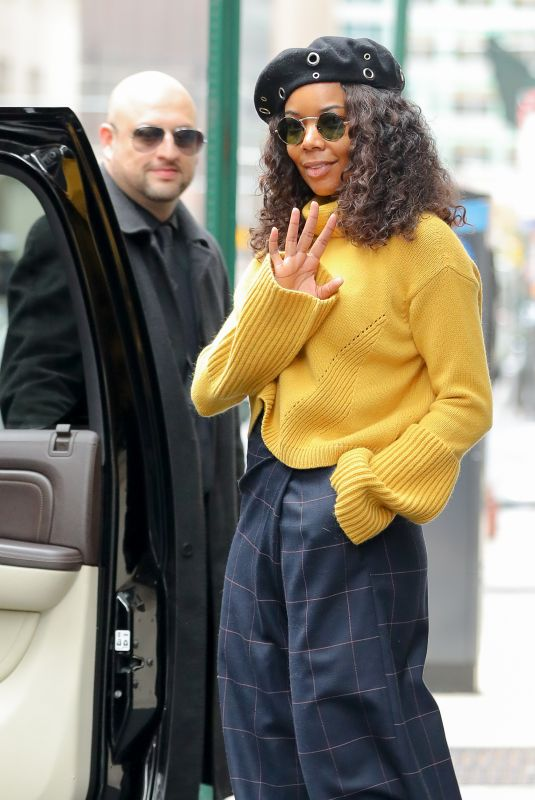GABRIELLE UNION Out and About in New York 11/16/2017