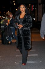 GABRIELLE UNION Out in New York 11/01/2017