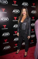 GABY ESPINO at Telemundo's Senora Acero La Coyote Premiere in Florida 11/06/2017