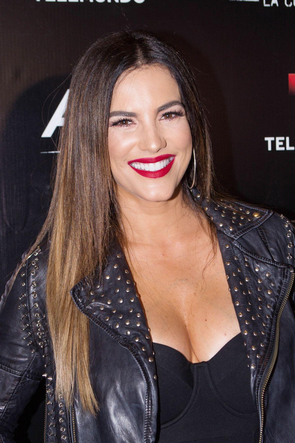 GABY ESPINO at Telemundo's Senora Acero La Coyote Premiere ...  Gaby Espino 2017