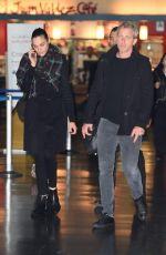 GAL GADOT and Yaron Versano at JFK Airport in New York 11/14/2017