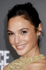GAL GADOT at Justice League Premiere in Los Angeles 11/13/2017