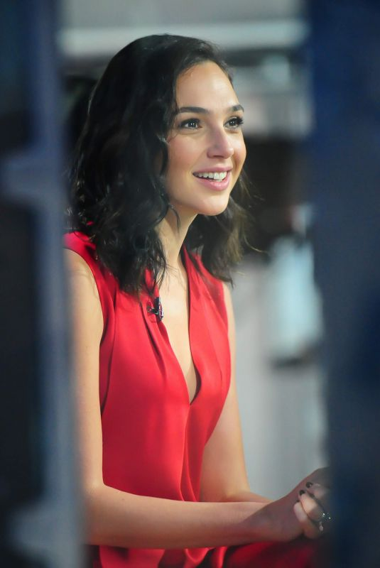 GAL GADOT at Today Show in New York 11/15/2017