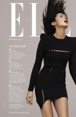 GAL GADOT in Elle Magazine, December 2017 Issue