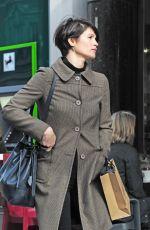 GEMMA ARTERTON Out Shopping in Marylebone in London 11/03/2017