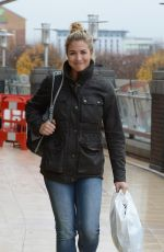 GEMMA ATKINSON Arrives at Dance Rehearsals in Manchester 11/14/2017