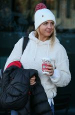 GEMMA ATKINSON Leaves Her Hotel in London 11/25/2017