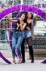 GEMMA LEE FARRELL and ABIGAIL RATCHFORD Out Shopping in Beverly Hills 11/24/2017