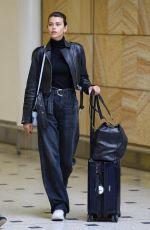GEORGIA FOWLER at Sydney International Airport 11/01/2017