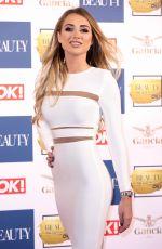 GEORGIA HARRISON at OK! Magazine Beauty Awards in London 11/28/2017