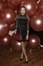 GEORGIA HARRISON at Skulpt Non Surgical Clinic Party in Liverpool 11/19/2017