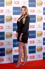 GEORGIA KOUSOULOU at OK! Magazine Beauty Awards in London 11/28/2017