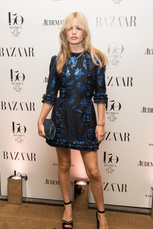 GEORGIA MAY JAGGER at Harper's Bazaar Women of the Year Awards in London 11/02/2017