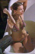 GEORGIA TOFFOLO in Bikini on the Set of Ii